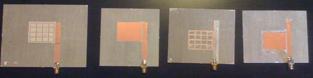 Thesis for microstrip antenna
